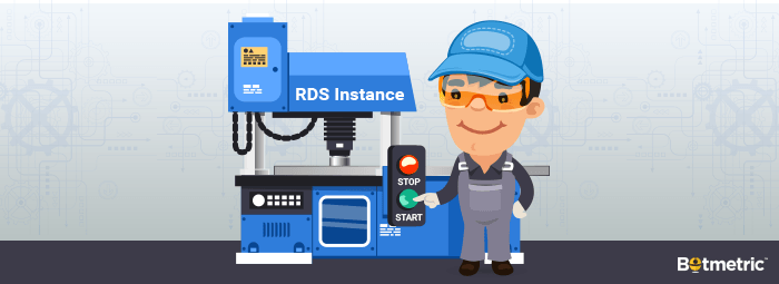 rds instance start and stop